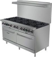 Commercial gas range Wolf Black Diamond Bdgr60ng 60in Gas Range W10 Burners And Restaurant Depot Commercial Gas Ranges Restaurant Equipment And Supplies Online