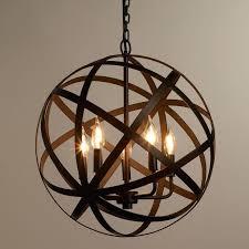 sphere chandelier silver artistic sphere chandelier light in lighting industrial silver gold spherical metal globe home