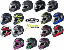 Details About Hjc Cl 17 Snow Helmet Full Face Lightweight Removable Interior Dot Snell Xs 5xl