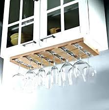 wood under cabinet wine glass rack under cabinet wine glass rack under cabinet wine glass rack