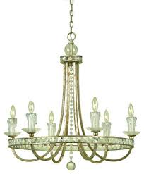 af lighting 7451 6h candice olson aristocrat six light chandelier with crystal