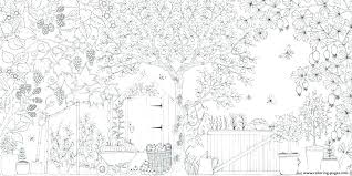 Printable Fairy Garden Coloring Pages Gardening Coloring Pages For