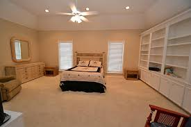image of ceiling fans with lights in bedroom