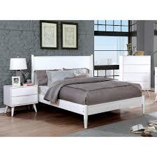 Carson Carrington Bodo White Mid-century Modern 3-piece Bedroom Set