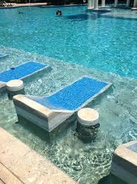 pool lounge chairs. In Pool Lounge Coco Beach Chairs Built Into The Outdoor Patio Chair Covers