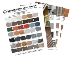Central States Metal Color Chart Metal Roofing Wall Panel Manufacturer In Phoenix Arizona