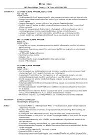 Social Worker Resume Sample Licensed Social Worker Resume Samples Velvet Jobs 59