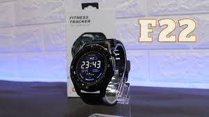 F22 Smart Watch Unboxing & Review Full Touch Heart Rate Fitness ...