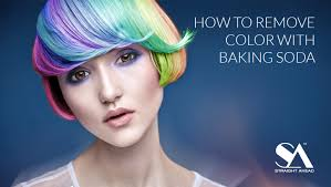 how to remove color with baking soda