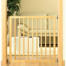 wood stairgate wooden stair gate safety lock cm collection lindam wooden stair gate