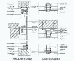 exceptional curtain wall details new best plan window images on glass curtain wall details dwg free
