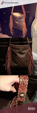 fringe louis vuitton medium looping bag this is not a leather vodka bag this is