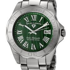 swiss legend men s 18010a 88 tungsten from real watches swiss legend men s 18010a 88 tungsten collection automatic green malachite stone dial