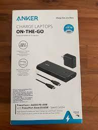 Newseal] Bộ pin Dự Phòng Anker PowerCore+ 26800 PD 45W & Sạc PowerPort Atom  III 60W - Combo B1376   Phụ Kiện Chơi Game Điện Thoại Khác