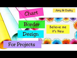 How To Decorate A Chart Paper Border Videos Matching Chart Paper Decoration Ideas For School