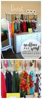 Bracelet Organizer Ideas Best 20 Necklace Organization Ideas On Pinterest Closet Vanity