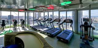 modern office wallpaper google. awesome gym room at google offices in tel aviv with city view finished modern design ideas interior decorating designs home decor great office wallpaper r