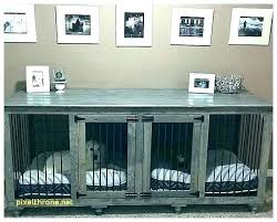 dog cage table pet crate table pet crate table furniture dog crate dog crate end table dog cage table
