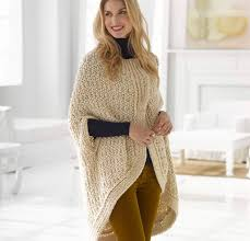 Free Knitted Poncho Patterns Simple Decoration