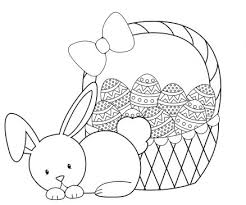 Free Printable Easter Egg Coloring Pages With For Toddlers Plus Cute