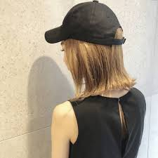 キャップに合うヘアアレンジのやり方簡単なロングとショートの方法