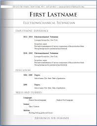 Resume Template Free Best Resume Format Download Free Resume Waa Mood