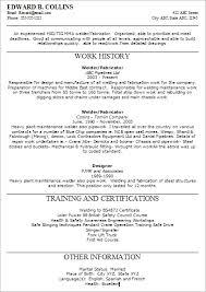 Good Resume For A Welder Pipe Welder Resume Template