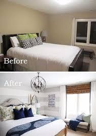 use large gray horizontal stripes to visually elongate the wall