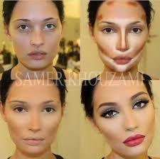 yes this teaches you makeup contouring but honestly that a lot of dang makeup take some of that junk off for sure