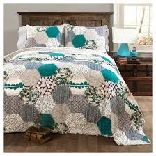 Briley Quilt Turquoise Quilt Set - Lush Decor : Target & Briley Quilt Turquoise Quilt Set - Lush Decor Adamdwight.com