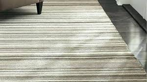 a com rugs crate barrel lynx grey striped hand knotted wool rug and pad last area