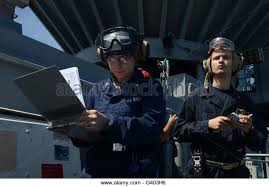 intelligence specialist and ensign track a surface contact stock image navy intelligence specialist