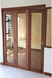 wooden folding door