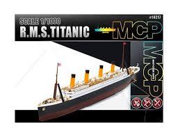 1 1000 rms titanic mcp model kit