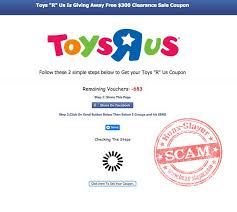 Example Of A Coupon Best Toys R Us Free Coupon Facebook Scam