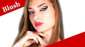 how to apply cream blush on cheeks with fingers blusher makeup tips tutorial