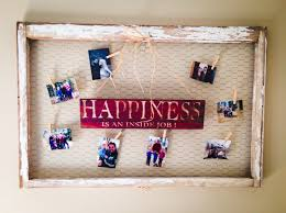 Homemade Rustic Picture Frames How To Build A Rustic Picture Frame Collage For Less Than 25