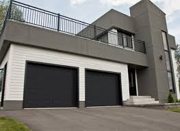 garaga standard garage doors model clic black