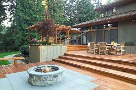 35 fire pit in wood deck and fire pits that light up the night diy shed pergola fence deck mccmatricschool com