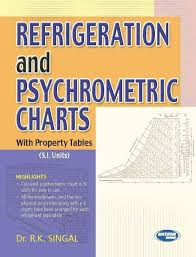 Refrigeration And Psychrometric Charts With Property Tables