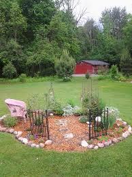 Memory garden idea for my sister