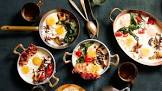 baked eggs with variations