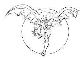 Small Picture Batman Coloring Pages To Print Batman Spiderman And Superman Page