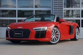 audi r8 convertible black. Plain Convertible 2018 Audi R8 Spyder Vehicle Photo In Houston TX 77090 Throughout Convertible Black O
