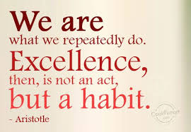 Aristotle Excellence Quote Enchanting Habit Quotes Sayings About Habits Images Pictures CoolNSmart