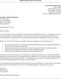 How To Write A Cover Letter For Hospital Job Paulkmaloney Com