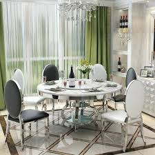 dining tables glass dining tables stainless steel room set home furniture minimalist modern morn table