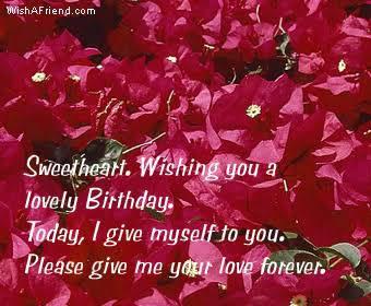 birthday status in hindi for husband