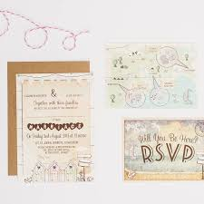 beside the seaside wedding invitation