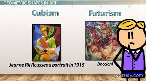 what are geometric shapes in art definition names list lesson transcript study com